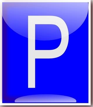 Parking Sign clip art