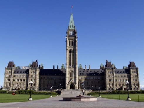 parliament peace tower ottawa