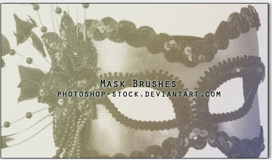 Party Mask Brush Pack