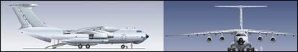 Passenger aircraft vector material