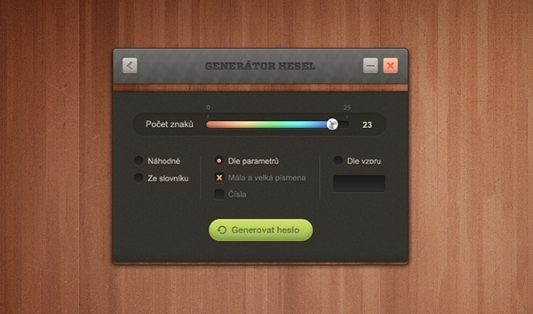 Password Generator UI