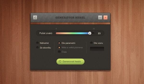 Password Generator UI
