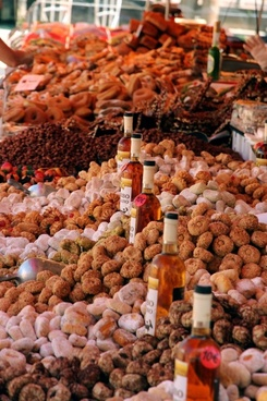pastries market candy