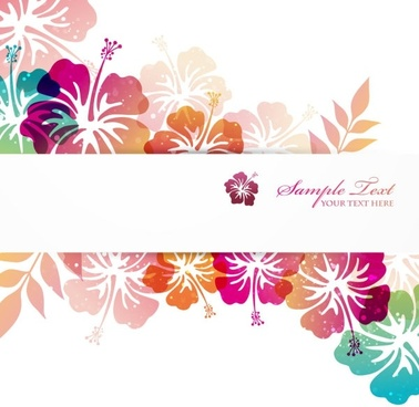 pattern background cover 01 vector
