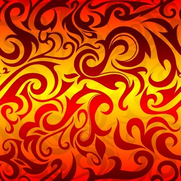 abstract background colored flat curves decor
