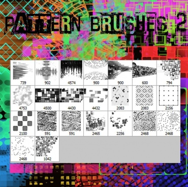 pattern brushes 2