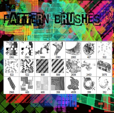 pattern brushes 3