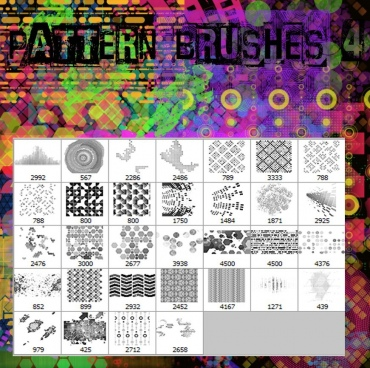 pattern brushes 4