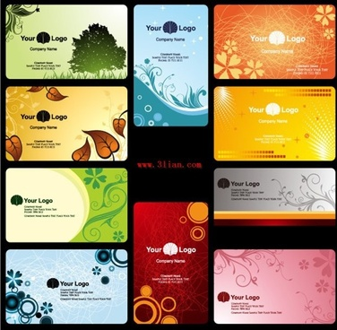 decorative backdrop templates nature theme multicolored design