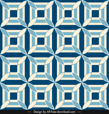 pattern template classical symmetric repeating design