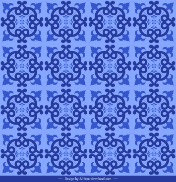 pattern template flat violet symmetrical repeating decor