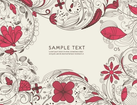 pattern vector fashion line