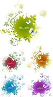 patterns of plant border trend vector