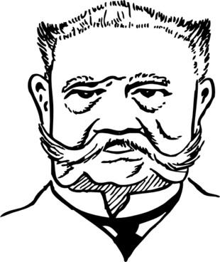 Paul Von Hindenburg clip art