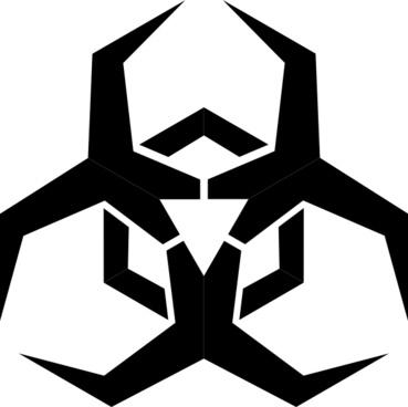 Pbcrichton Malware Hazard Symbol clip art