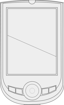 PDA line art
