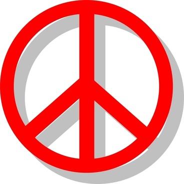 Peace Sign clip art