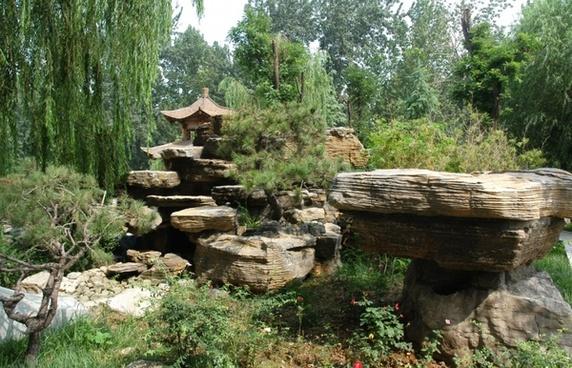 peaceful setting in jinan
