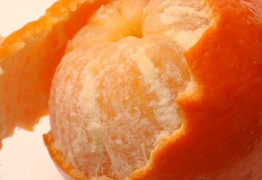 peel the skin of the orange highdefinition picture