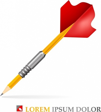 Pencil dart