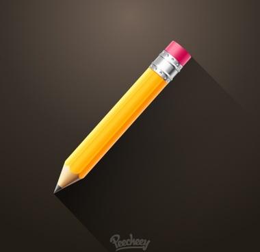 pencil long shadow