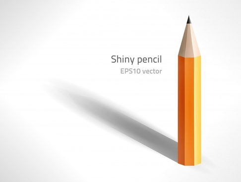 pencil background shiny modern 3d decor