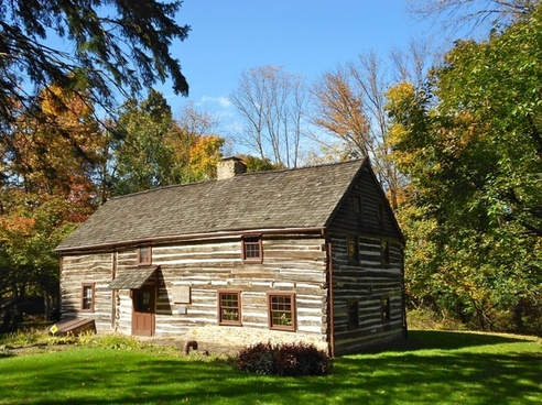 pennsylvania log cabin structure