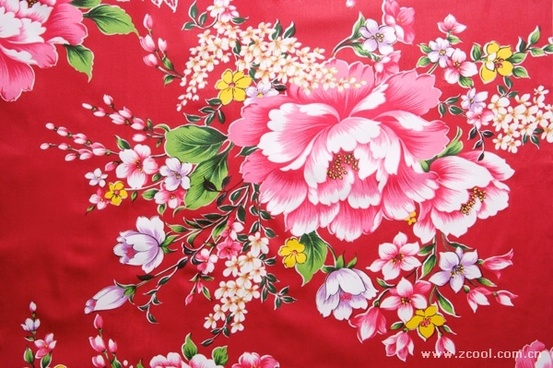 peony flowers chinese fabrics background hd picture