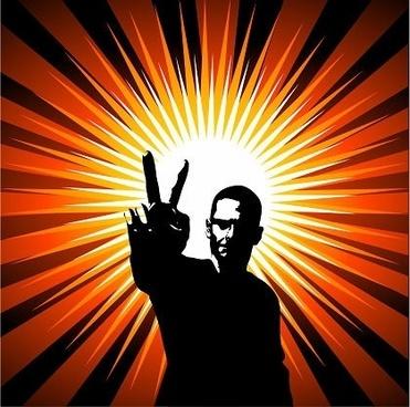 winner icon design silhouette design sparkling rays background
