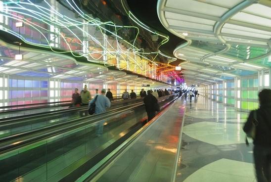 people ramp airport
