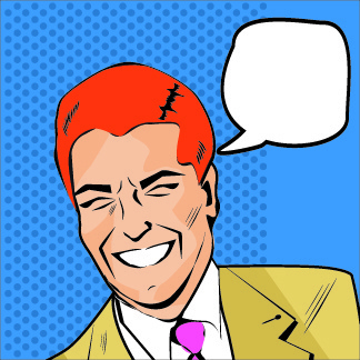 people with speech cloud design vector