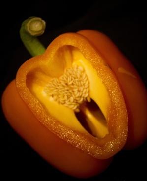 pepper heart shape
