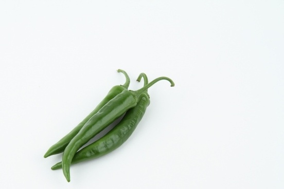 pepper vegetables green
