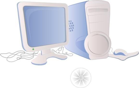 Computer Clip Art Free Download - Computer Clipart - Png Download - Full  Size Clipart (#6317) - PinClipart