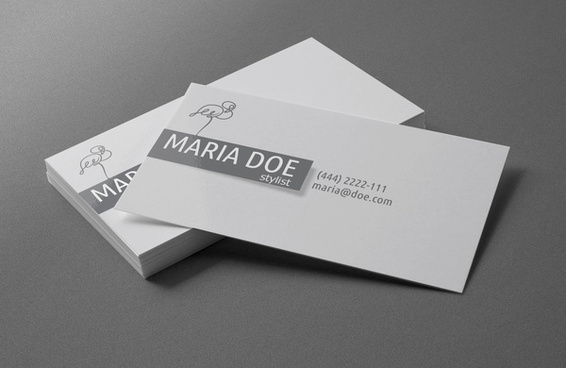 personal stylist business cards free template