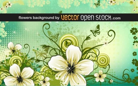 petal background vector