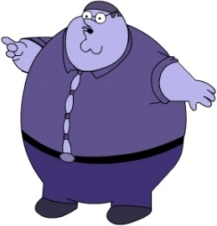 Peter Griffin Blueberry