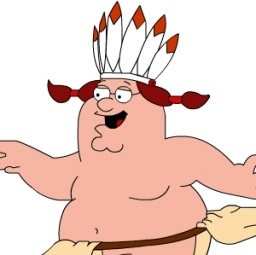 Peter Griffin Indian zoomed