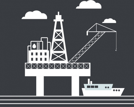 petroleum industrial concept platform and ship design