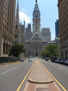 philadelphia downtown city