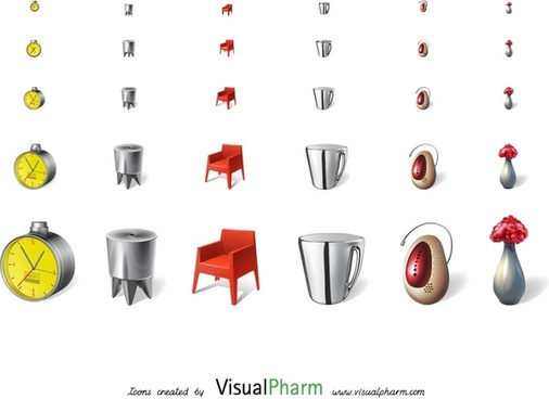 Philippe Starck Icons icons pack