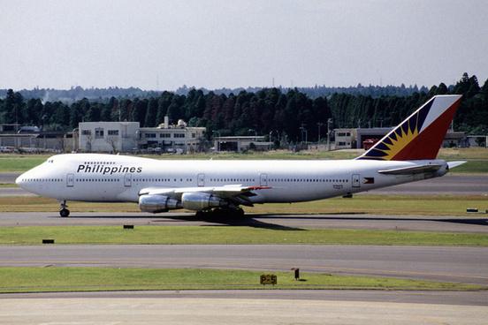 philippine airlines boeing 747 2f6b n744pr498223829