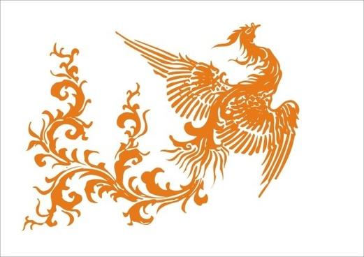 phoenix design elements vector