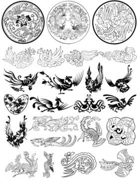 phoenix pattern vector case 4