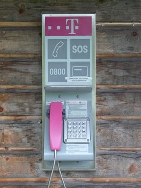 phone phone booth telephone handset