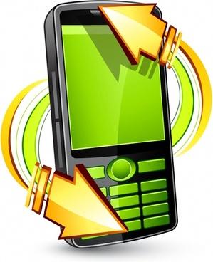 phone vector