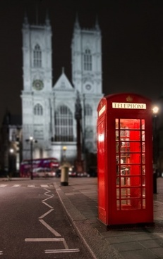 phonebooth at westminster abbey