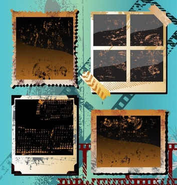photo film background colored retro grunge decor