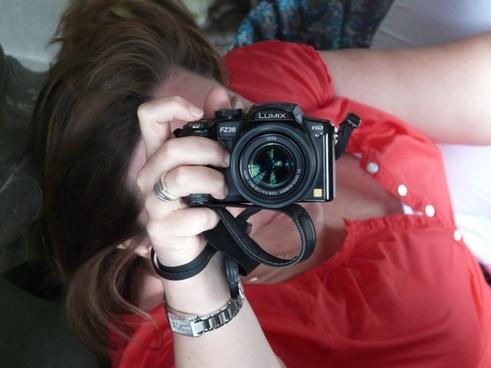 photographer photograph hand