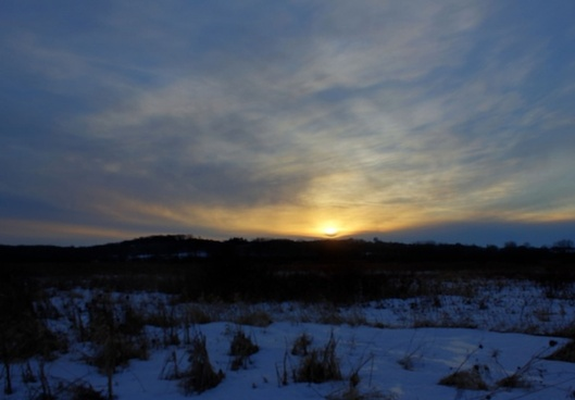 photographic sunset in madison wisconsin